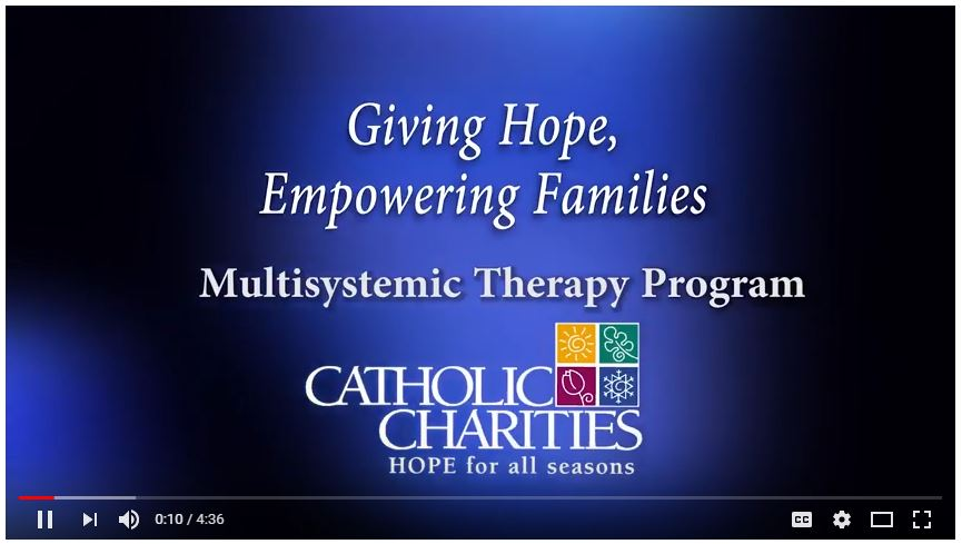 Catholic Charities share their experience with MST